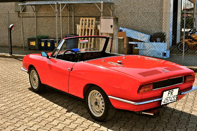 Auto D Epoca In Vendita Fiat 850 Spider Europa Prima