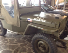 Jeep Wallis del 1943 Completamente Restaurata